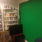 DVD library and recording studio