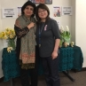 Persian Cultural Week Co-Organizers, Pardis Minuchehr and Ikuko Turner