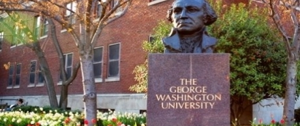 Photo of GW Campus- GW Bust